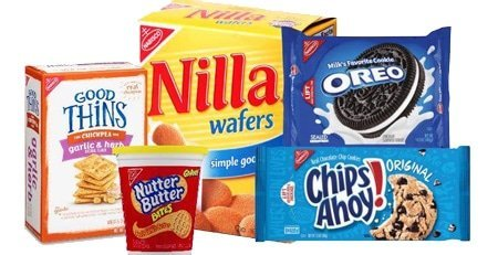 Nabisco Biscuit and Cookie Products