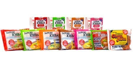 Sanyo Foods Products Noodle Soup Ready Meal