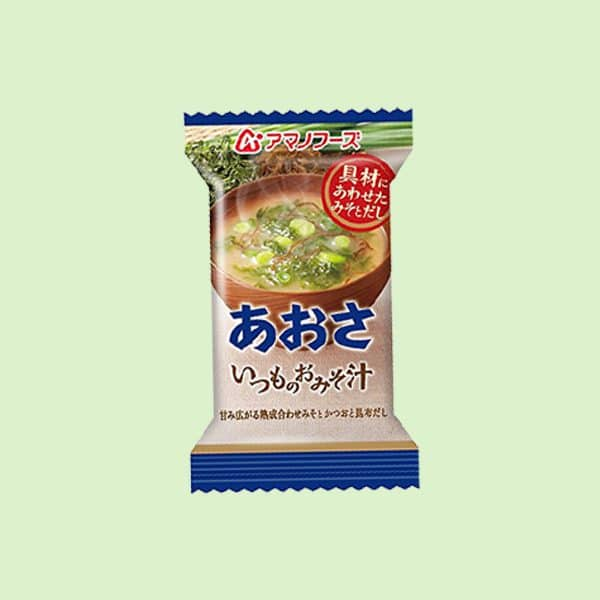 Pack of Amano Miso Soup Aosa
