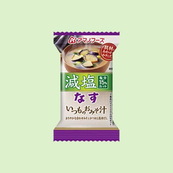 Pack of Amano Miso Soup Eggplant