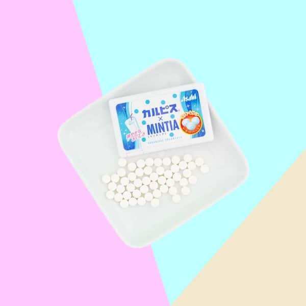 Tablets of Asahi Mintia Calpis