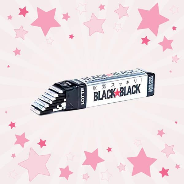 Black Black Chewing Gum