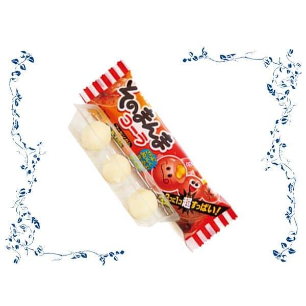 Open Pack of Coris Sonomanma Cola Gum