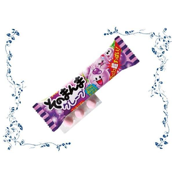 Open Pack of Coris Sonomanma Grape Gum
