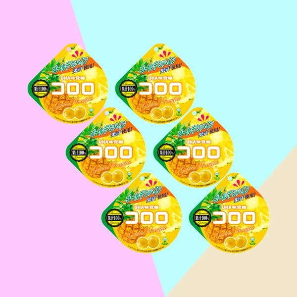 Cororo Gummy Candy Golden Pineapple