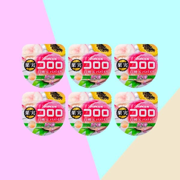 Cororo Gummy Candy Peach & Papaya