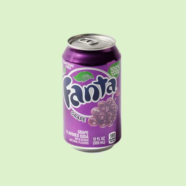 Can of Fanta Grape