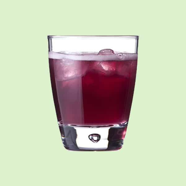 Glass of Fanta Grape