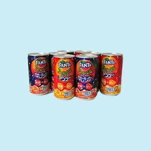 Bunch of Fanta Cans