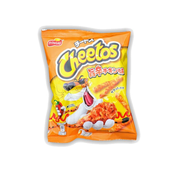 Pack of Frito Lay Cheetos Spicy Chicken