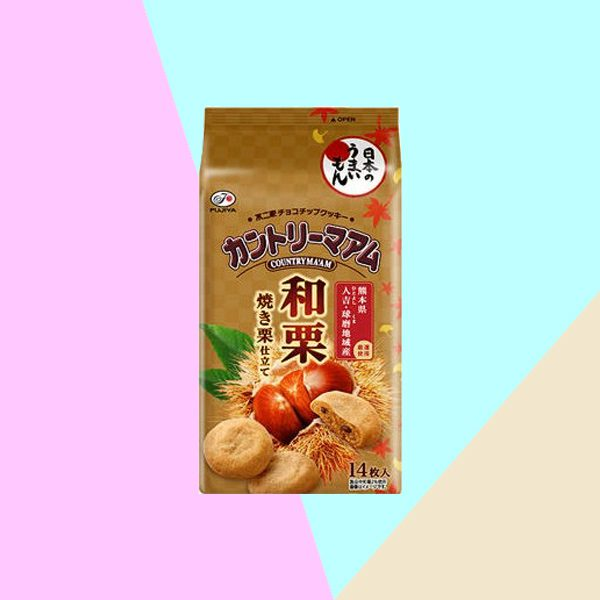 Pack of Fujiya Country Maam Chestnut