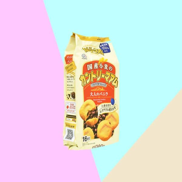 Pack of Fujiya Country Maam Vanilla