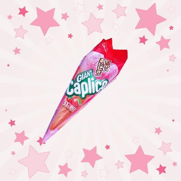 Glico Caplico Strawberry