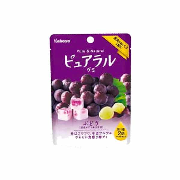 Pack of Kabaya Pureral Grape Gummy
