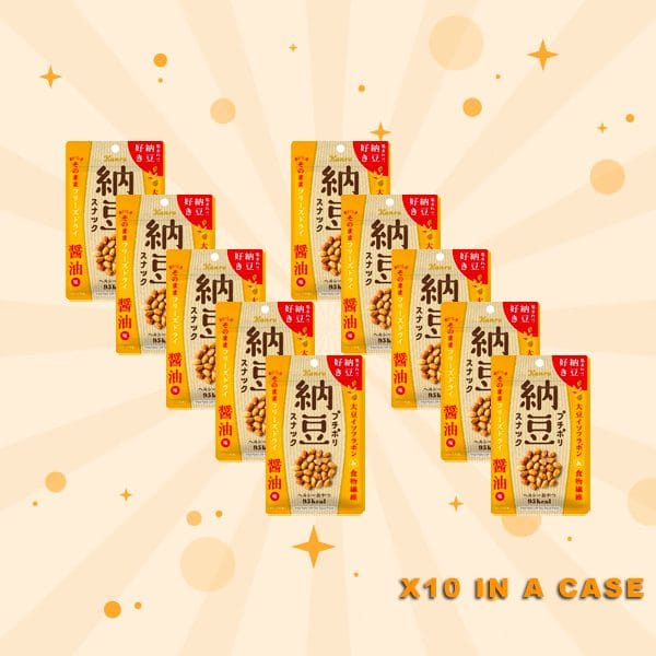Kanro Natto Snack 10 in a case