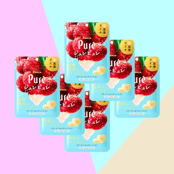 Kanro Pure Gummy Lychee