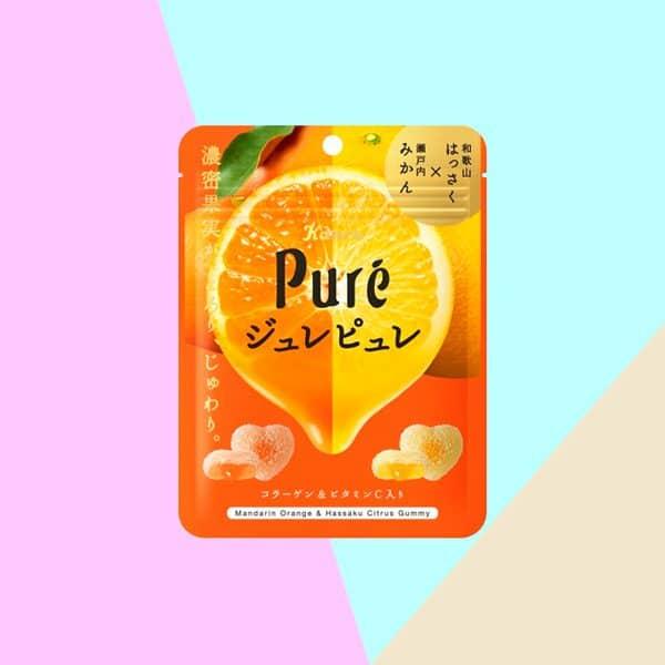 Kanro Pure Gummy Tangerine