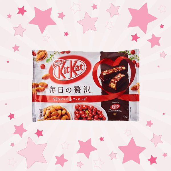 Pack of KitKat Chocolate Cranberry Almond