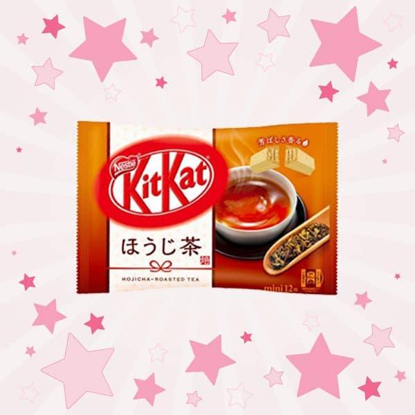 Pack of KitKat Hojicha Green Tea