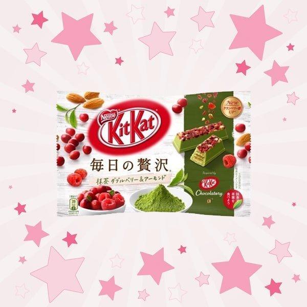 Pack of KitKat Matcha Doubleberry Almond