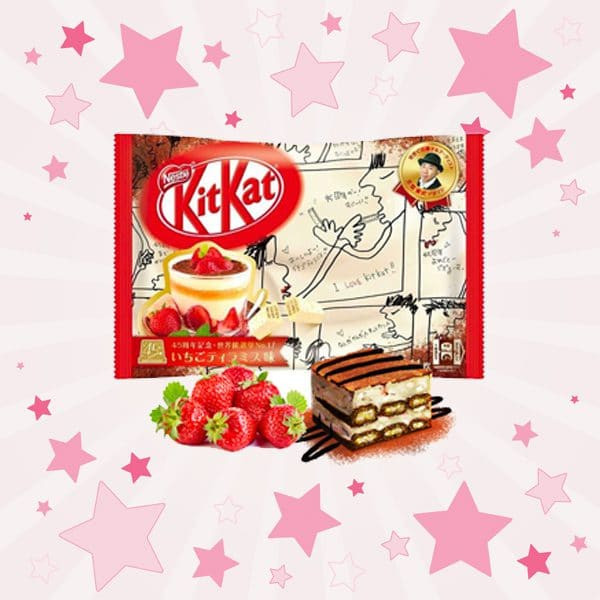 KitKat Mini Strawberry Tiramisu