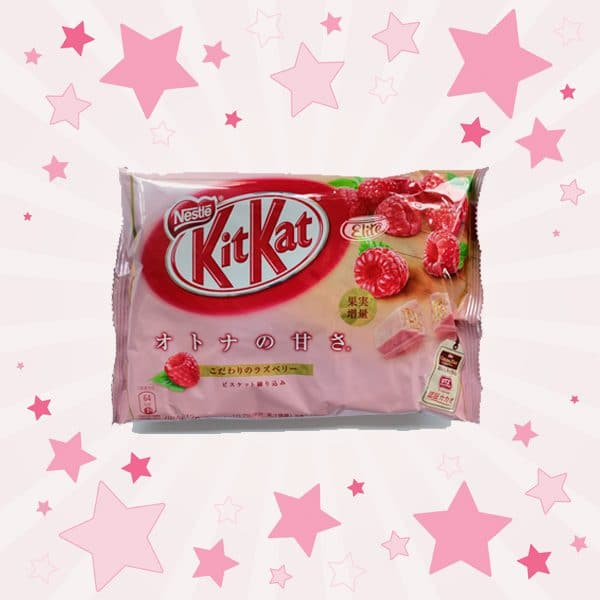 Pack of KitKat Raspberry