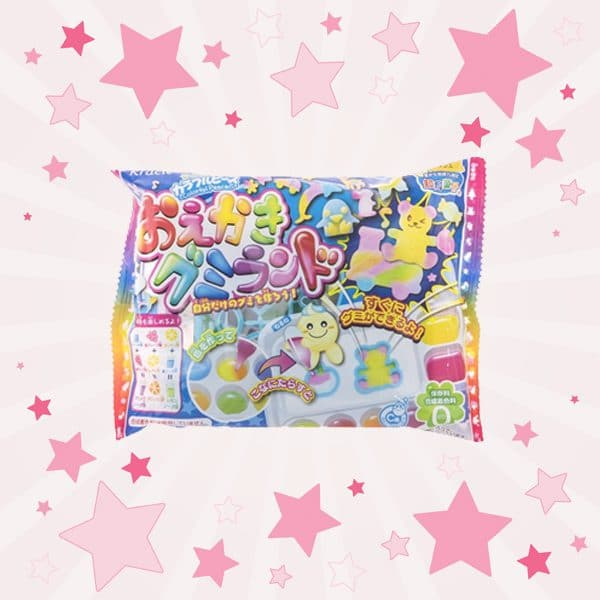 Box of Kracie Gummy Land Kit