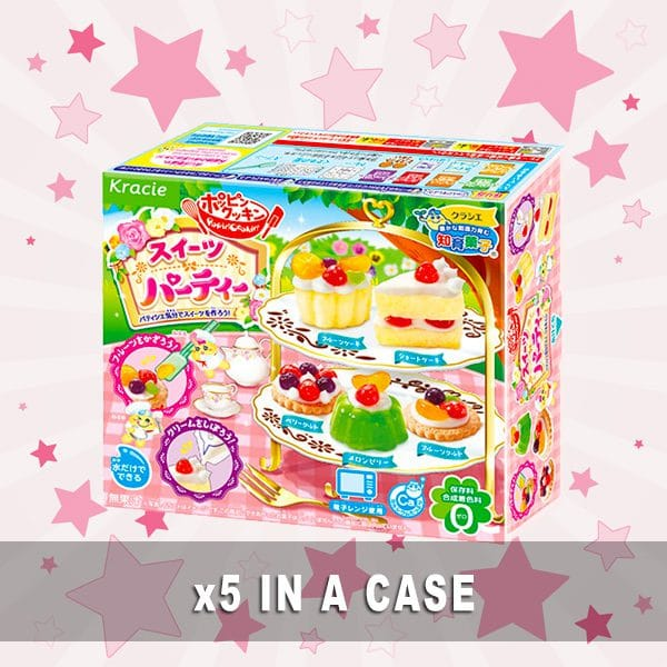 Kracie Sweets Party Kit 5 in a box