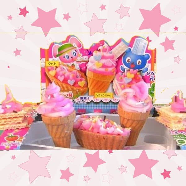 Kracie Tanoshii Cake Kit