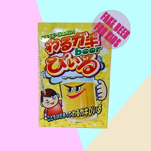 Kyoshin Warugaki Beer Fake Beer for Kids