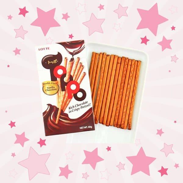 Lotte Toppo Chocolate