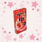 Box of Lotte Toppo Strawberry Chocolate