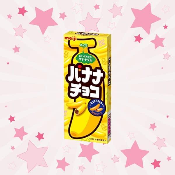 Pack of Meiji Banana Chocolate