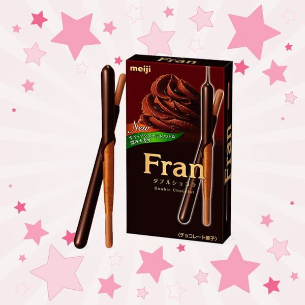 Box of Meiji Fran Double Chocolate