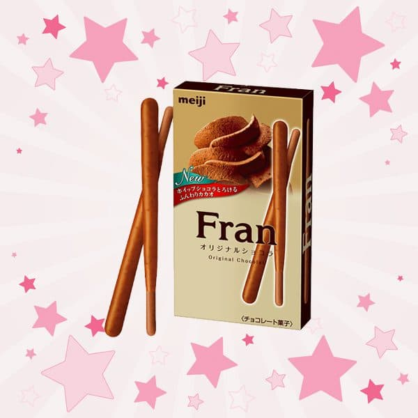 Box of Meiji Fran Original Chocolate