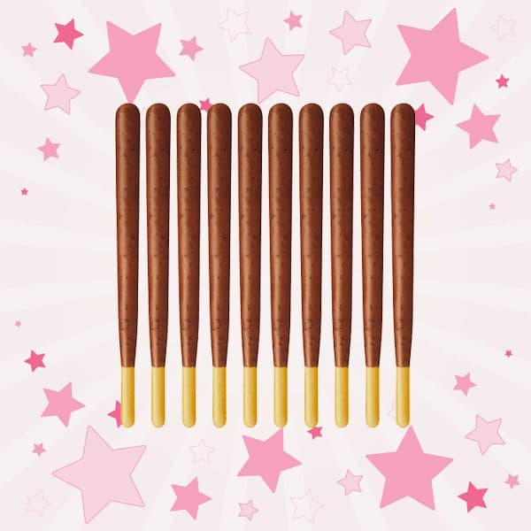 Sticks of Meiji Fran Original Chocolate