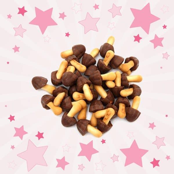 Meiji Kinoko No Yama Milk Chocolate