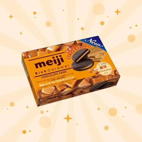Meiji Rich Caramel Chocolate