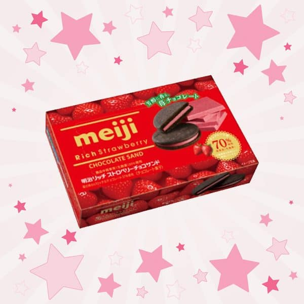 Meiji Rich Strawberry Chocolate