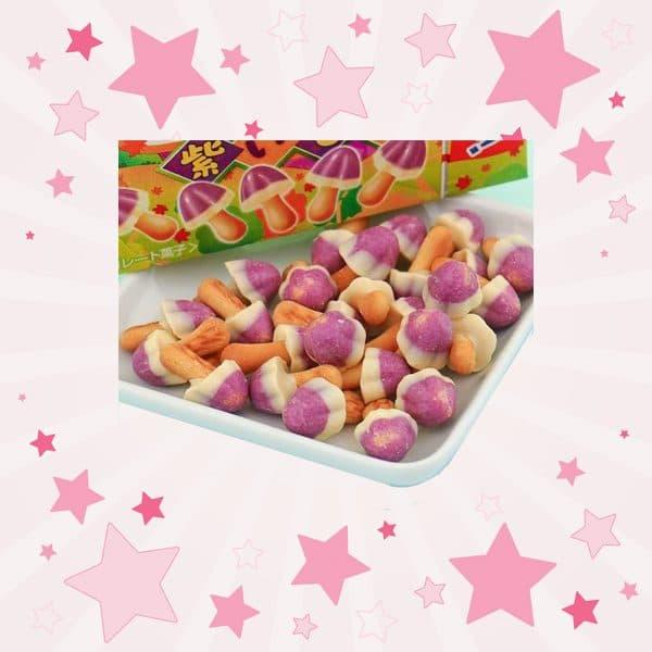 Meiji Sweet Potato Kinoko No Yama