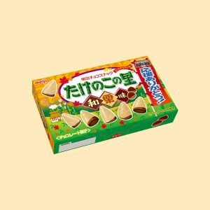 Meiji Takenoko No Chestnut Chocolate