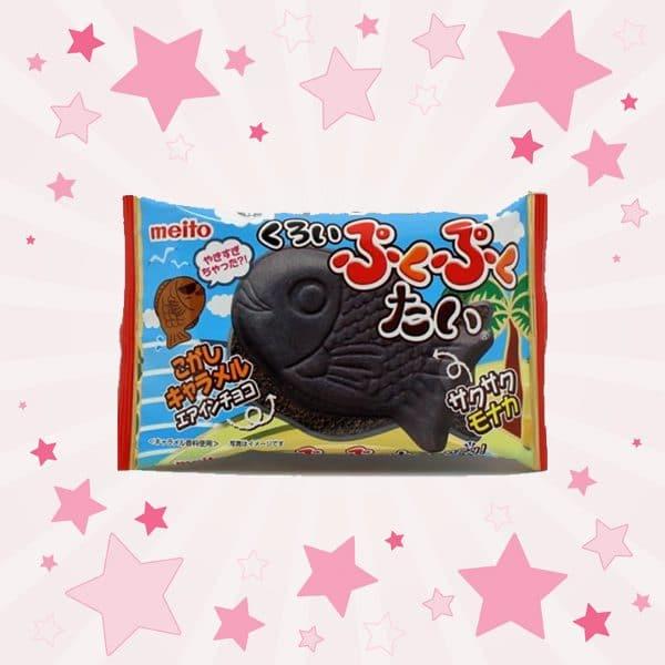 Pack of Meito Black Puku Puku Tai