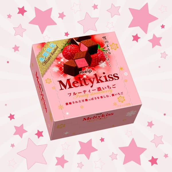 Box of Meltykiss Strawberry Chocolate