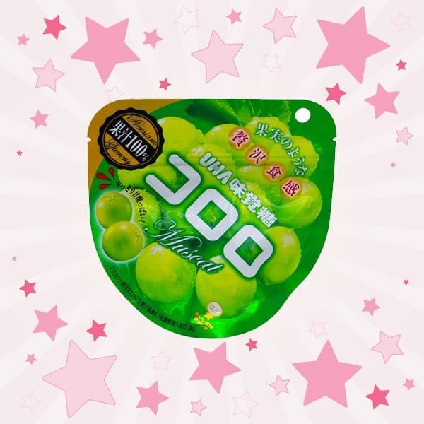 Pack of Mikakuto Cororo Gummy Muscat