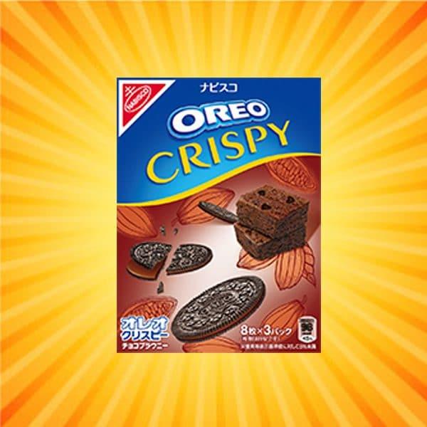 Nabisco Oreo Crispy Chocolate Brownie