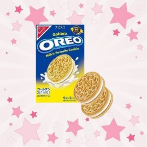 Nabisco Oreo Golden Vanilla