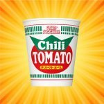 Nissin Cup Noodle Chili Tomato
