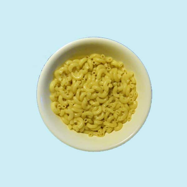 Bowl of Nissin Gratin Macaroni