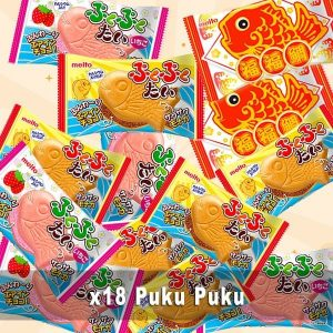 Puku Puku Pack 18 in 3 flavours