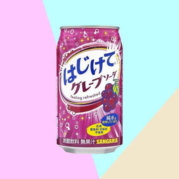 Sangaria Hajikete Grape Soda